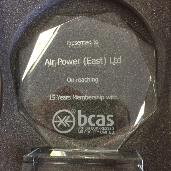 BCAS Membership Recognition for Air Power East Ltd