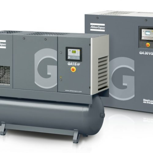 GA Range – 5kW Oil-Lubricated Air Compressor GA5