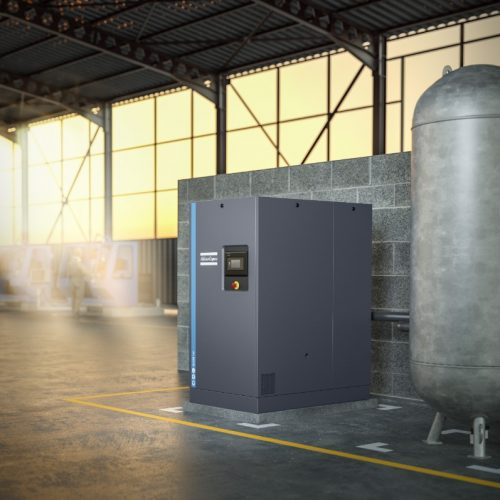 GA22+ 22kW Oil-Lubricated Air Compressor – GA+ Range